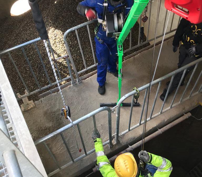 Safety first: Arbeitssicherheit geht vor- unser neues Höhensicherungsgerät